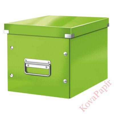 Tároló doboz LEITZ Click&Store M méret kocka zöld