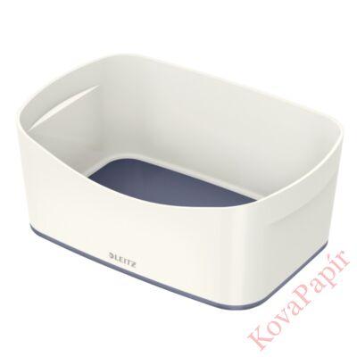 Tároló doboz LEITZ Wow Mybox műanyag fehér/szürke