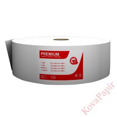 Toalettpapír Fortuna Premium Jumbo maxi tekercses 2 rétegű 26cm 280m hófehér 6/csom