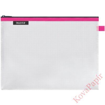 Utazótasak LEITZ Wow vízálló L méret 30x23cm rózsaszín