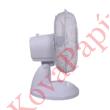 Ventilátor asztali TOO FAND-23-200-W 23 cm 25W 2 fokozat fehér