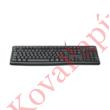 Billentyűzet vezetékes LOGITECH K120 HUN USB OEM fekete