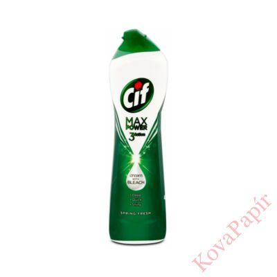 Súrolókrém CIF Max Power 3Action tavaszi frisseség 450 ml