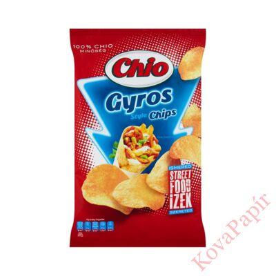 Burgonyachips CHIO Streetfood gyros 70g