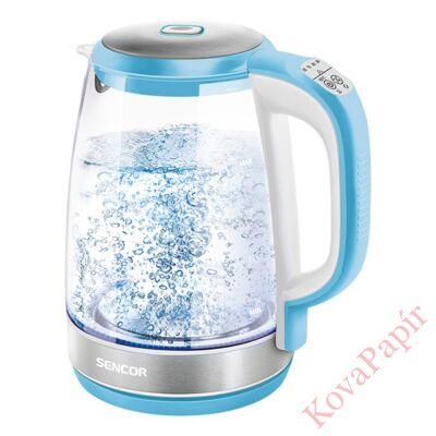 Üveg vízforraló SENCOR SWK 2192BL 2200W 2 liter kék