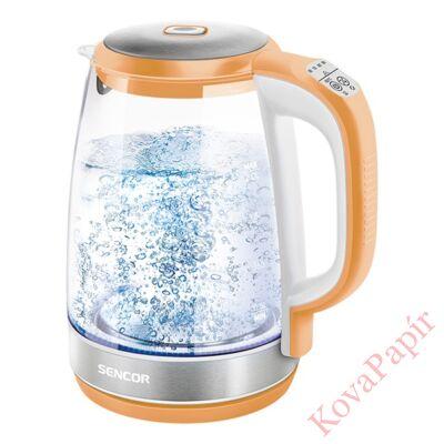 Üveg vízforraló SENCOR SWK 2193OR 2200W 2 liter narancs