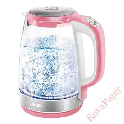 Üveg vízforraló SENCOR SWK 2194RD 2200W 2 liter piros