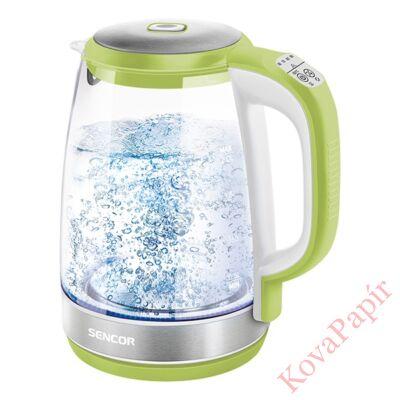 Üveg vízforraló SENCOR SWK 2197GG 2200W 2 liter zöld