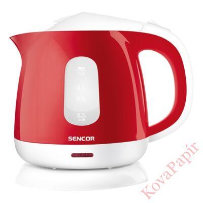 Vízforraló SENCOR SWK 1014RD 1100W 1 liter piros