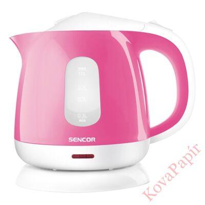 Vízforraló SENCOR SWK 1018RS 1100W 1 liter rózsaszín