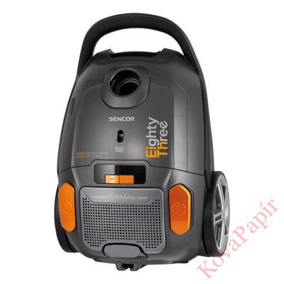 Porzsákos porszívó SENCOR SVC 8300TI 700W ECO szűrős fekete