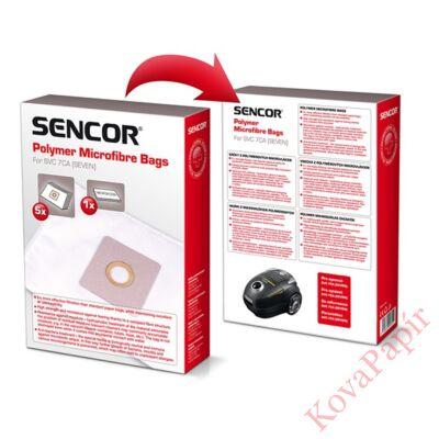 Papírzsák porszívóba SENCOR SVC 7CA + 1 mikroszűrő