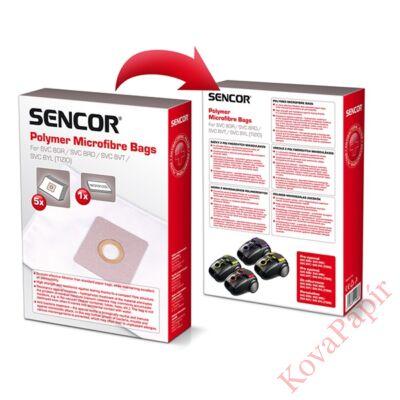 Papírzsák porszívóba SENCOR SVC 8 + 1 mikroszűrő