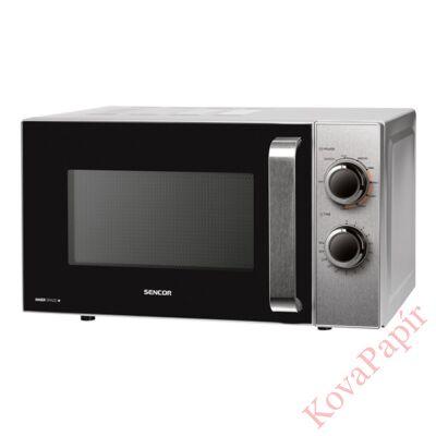 Mikrohullámú sütő-grill SENCOR SMW 4317SS 17 liter 700W grill funkcióval acél