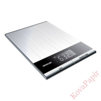 Konyhai mérleg SENCOR SKS 5305 5 kg szürke