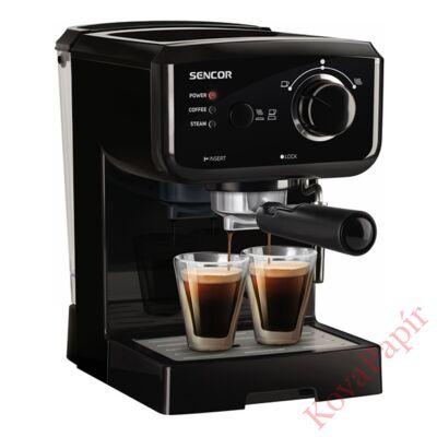 Presszó kávéfőző SENCOR SES 1710BK 2 személyes fekete