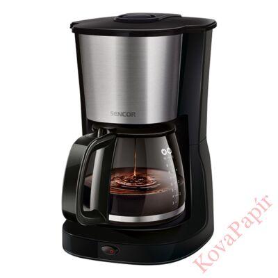 Filteres kávéfőző SENCOR SCE 3050SS tea főzési funcióval acél