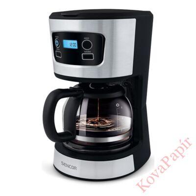 Filteres kávéfőző SENCOR SCE 3700BK tea főzési funcióval fekete