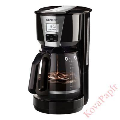 Filteres kávéfőző SENCOR SCE 5070BK tea főzési funcióval fekete