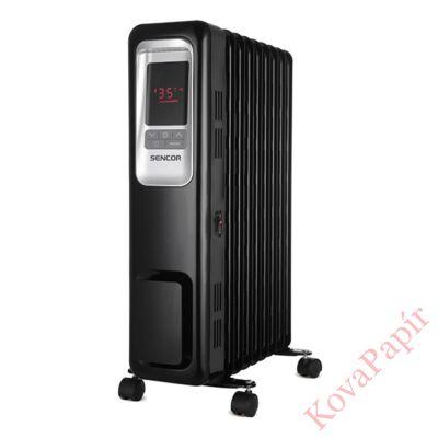 Elektromos olajradiátor SENCOR SOH 6109BK 2000W 3 fokozatú fekete