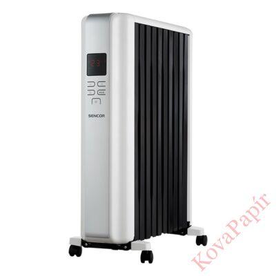 Elektromos olajradiátor SENCOR SOH 8110WH 2300W 3 fokozatú fehér