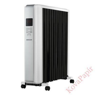 Elektromos olajradiátor SENCOR SOH 8112WH 2500W 3 fokozatú fehér