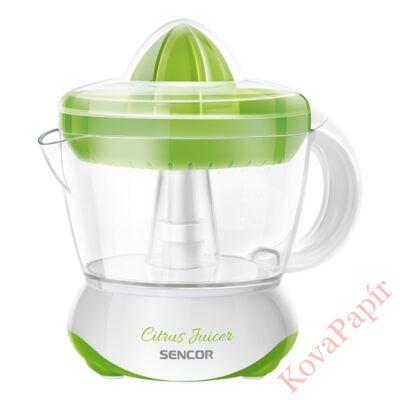 Citrusfacsaró SENCOR SCJ 1051GR elektromos két méretű fejjel zöld