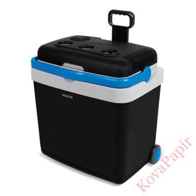 Autós hűtőtáska SENCOR SCM 4233BL 60W 33 liter kék