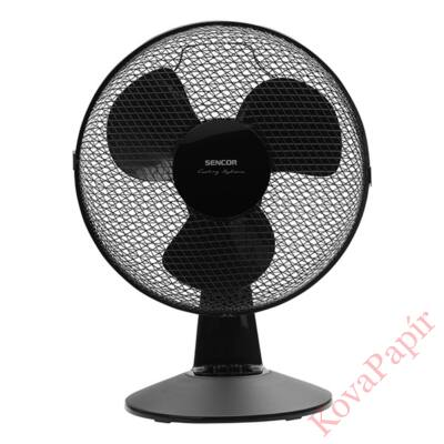 Ventilátor asztali SENCOR SFE 3011BK 30 cm 35W 3 fokozat fekete