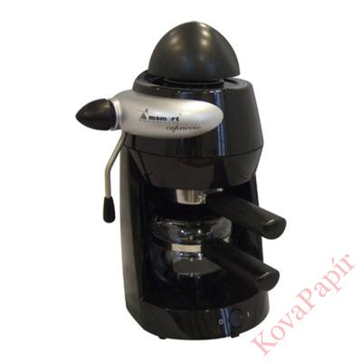 Presszó kávéfőző MOMERT 1160 2-6 személyes fekete