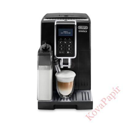 Automata kávéfőző DELONGHI ECAM35055B 2 személyes tejhabosítóval fekete