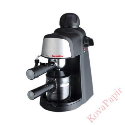 Presszó kávéfőző HAUSMEISTER HM6209 4 személyes fekete