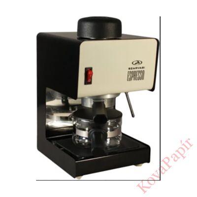 Presszó kávéfőző SZARVASI SZV611 2-6 személyes krém-fekete