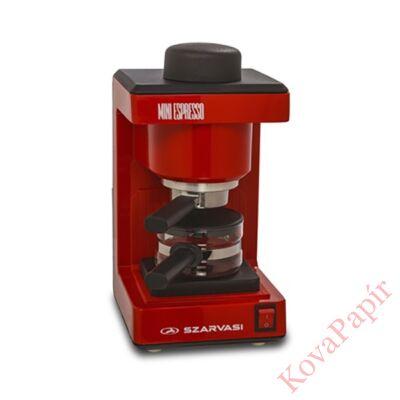 Presszó kávéfőző SZARVASI SZV612 2-6 személyes piros