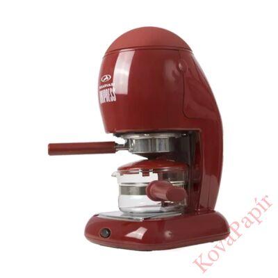 Presszó kávéfőző SZARVASI SZV624 2-6 személyes bordó