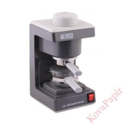 Presszó kávéfőző SZARVASI SZV612 2-6 személyes szürke
