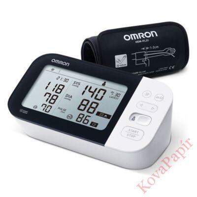 Vérnyomásmérő OMRON HEM-7361T-EBK LCD fehér
