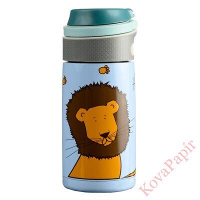 Termosz WABO 350 ml acél fedeles oroszlán