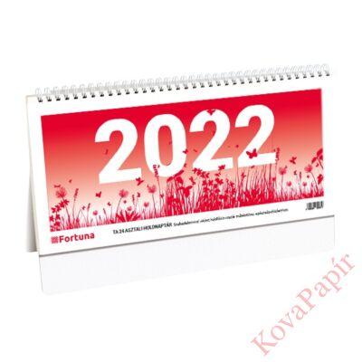 Asztali naptár FORTUNA TA24 holdfázissal 2022