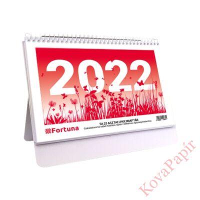 Asztali naptár FORTUNA TA23 holdfázissal 2022.