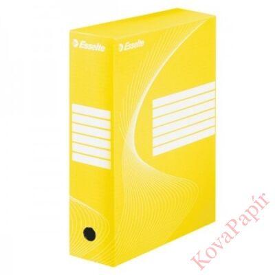 Archiváló doboz ESSELTE 100mm sárga