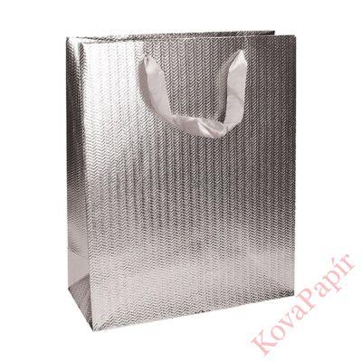 Ajándéktasak Eco Classic Plus M 18x23x10 elegáns ezüst