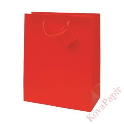 Ajándéktasak Special Simple L 26x32x12 piros