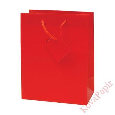 Ajándéktasak Special Simple M 18x23x10 piros