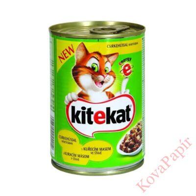 Állateledel konzerv KITEKAT macskáknak csirkehússal 800g
