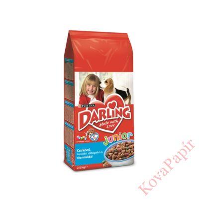 Állateledel száraz PURINA Darling Dry Dog Junior kutyáknak 2,5kg