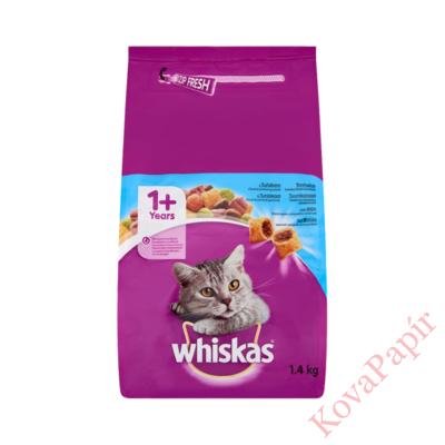 Állateledel száraz WHISKAS macskáknak tonhallal 1,4kg