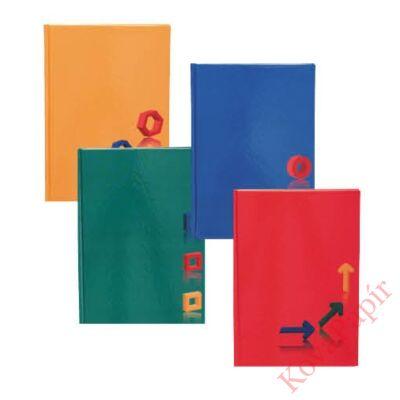 Beírókönyv EDUCA A/5 egyszínű keményfedeles 96 lapos vonalas