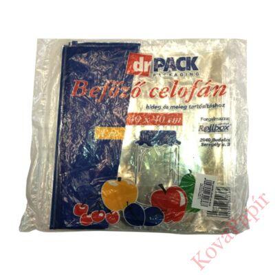 Befőző celofán DR.PACK 40x40 cm 4 ív/csomag