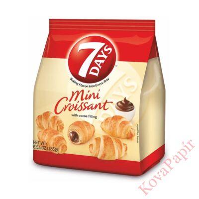 Croissant 7DAYS mini kakaós töltelékkel 200g